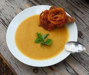 Cremas o sopas para banquetes