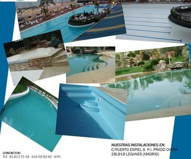 Impermeabilización y rehabilitación de piscinas. !! Consulta sin compromiso !!
