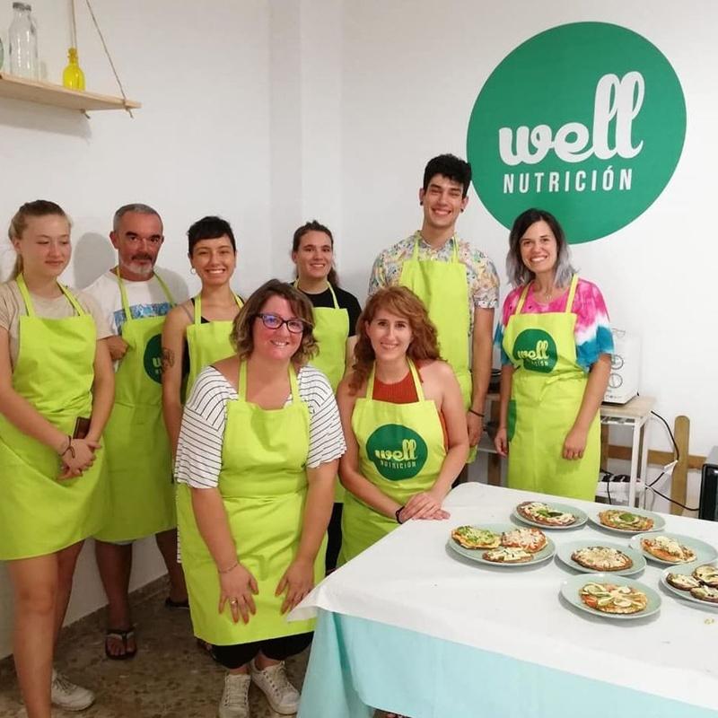 Taller de Bases de Pizzas Vegetales: Servicios y Talleres de Melody García Nutrición