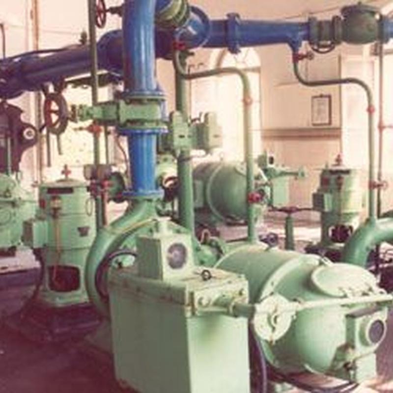 Redes de saneamiento:  Servicios de Restuc