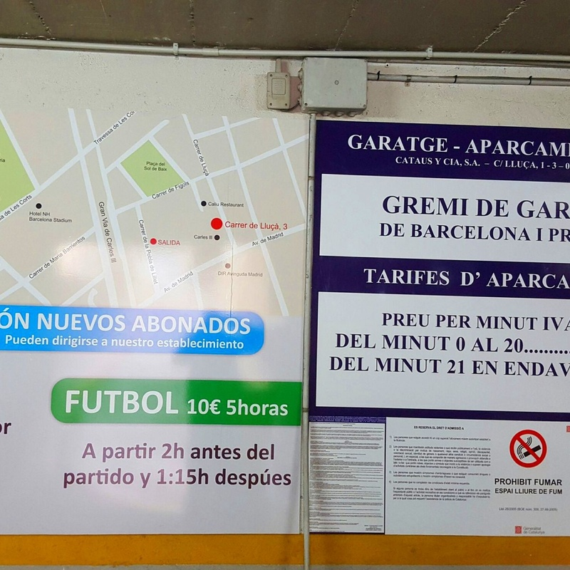 Parking Av. Madrid: Productos  de CATASUS Y COMPA¥IA, S.A.
