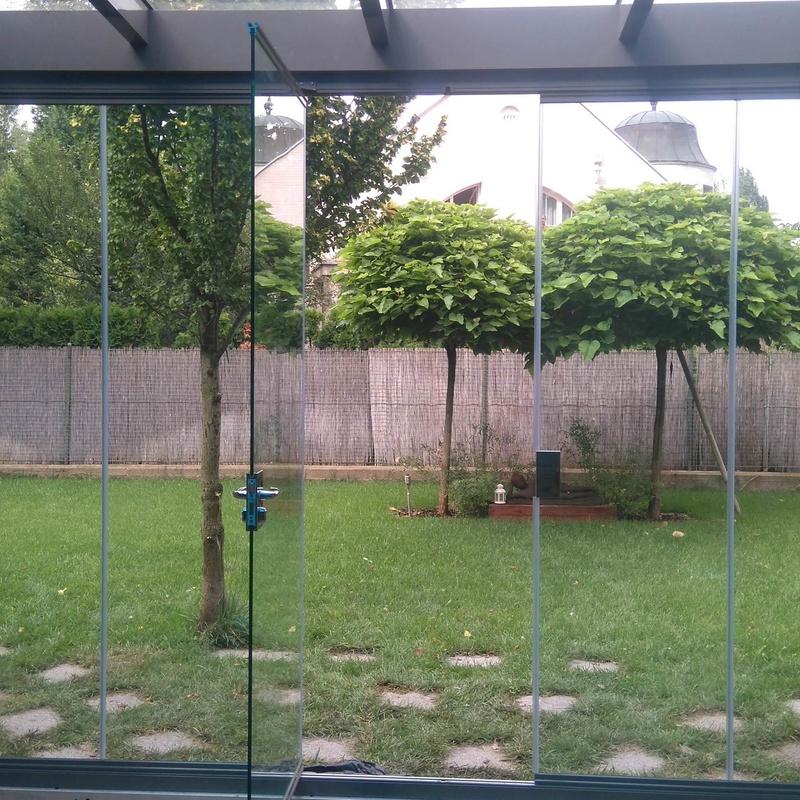 Cortinas de cristal para porches: Productos y Servicios de Aluminios Gamero