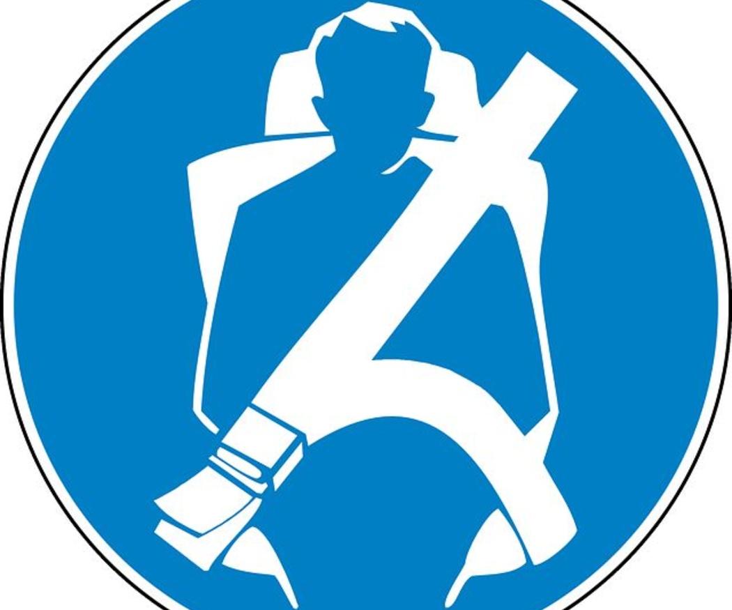 El cinturón de seguridad, obligatorio en todos los autocares