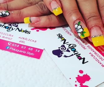 Pedicura semipermanente: Servicios de Nathaly Nails