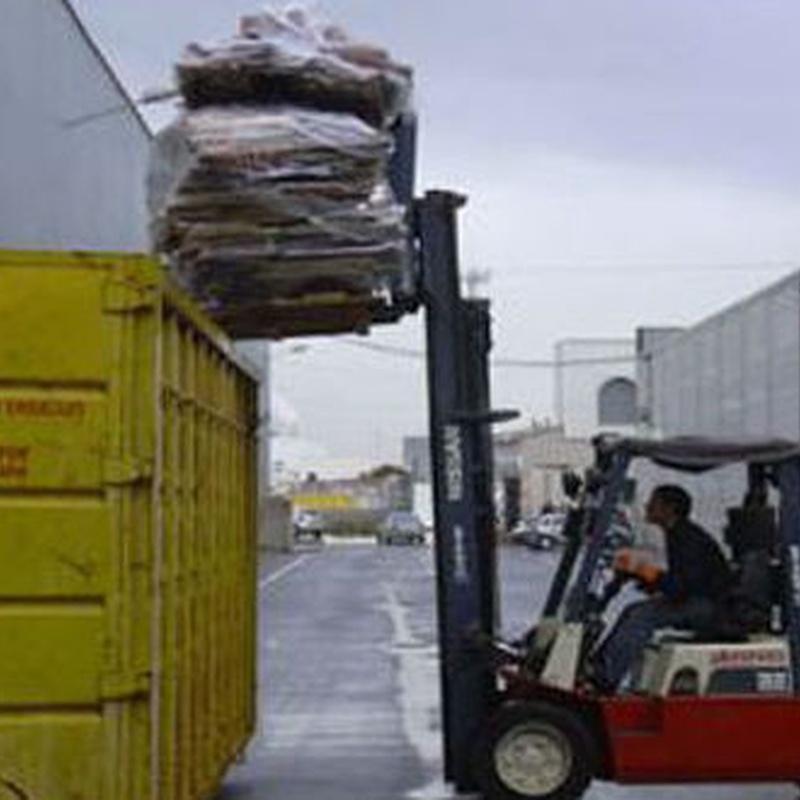 Retirada de muebles viejos: Servicios y flota de Mudanzas Paco Valls