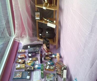 Nuestro escaparate dedicado al tarot y los oraculos