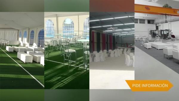 Alquiler de sillas y mesas en Zaragoza - Stuhl Ibérica