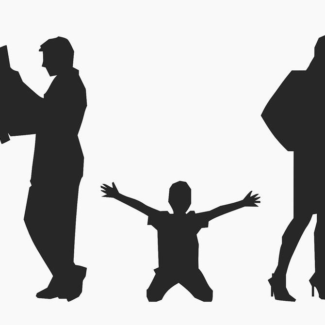Cuando los menores sufren la separación de los padres