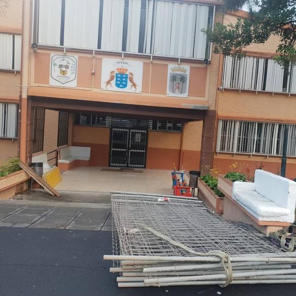 Reforma Colegio San Fernando en Santa Úrsula