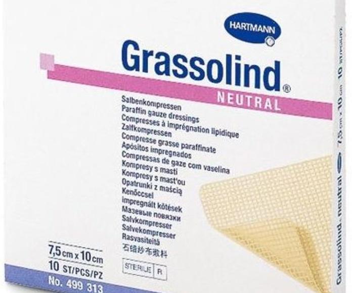 apósitos impregnado Grassolind neutral