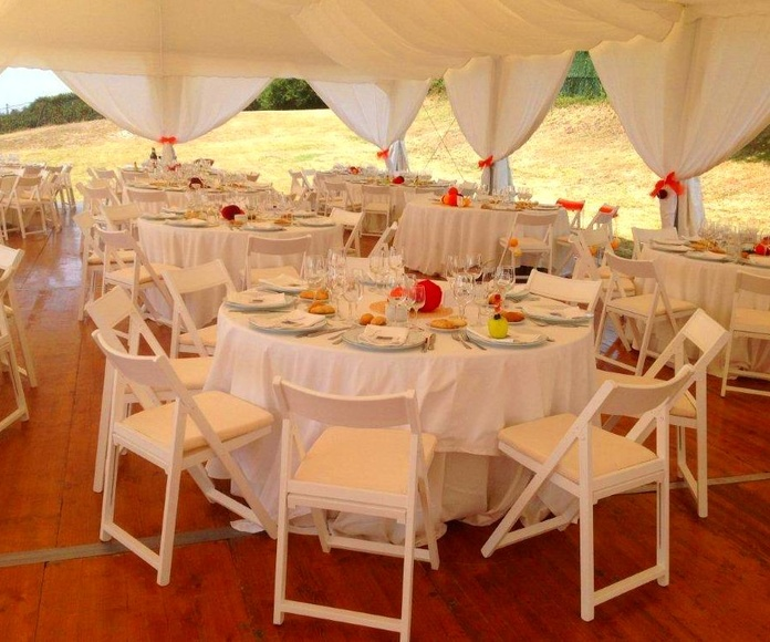 Carpas para bodas Bilbao Bizkaia