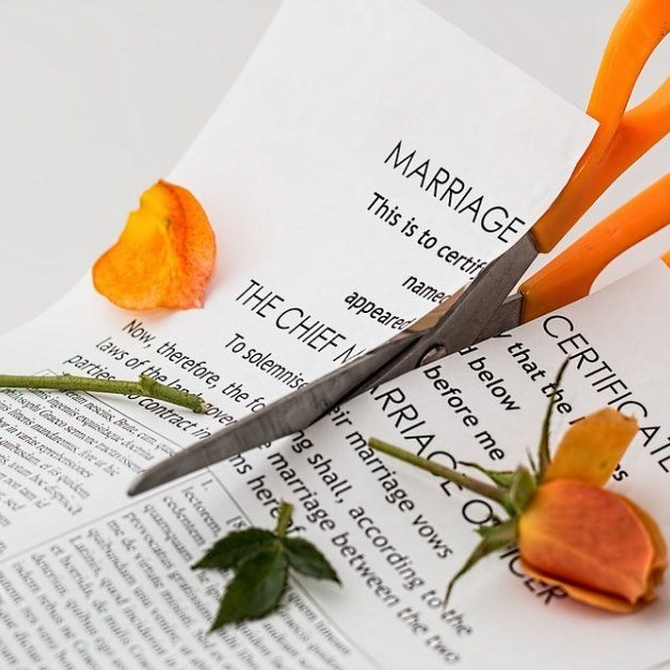 El proceso de divorcio exprés