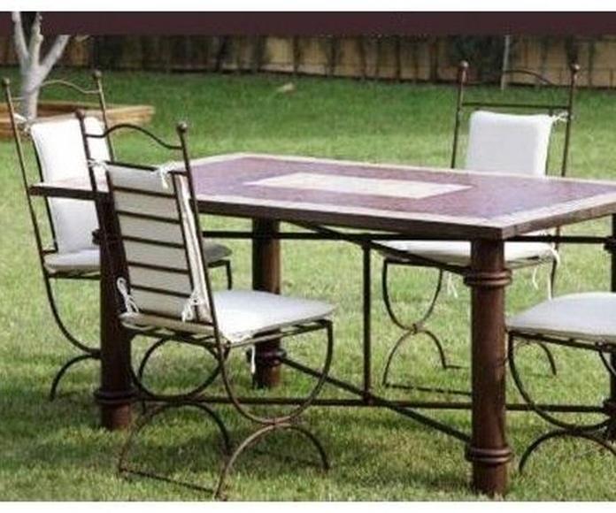 Elige el mueble de forja ideal para tí.