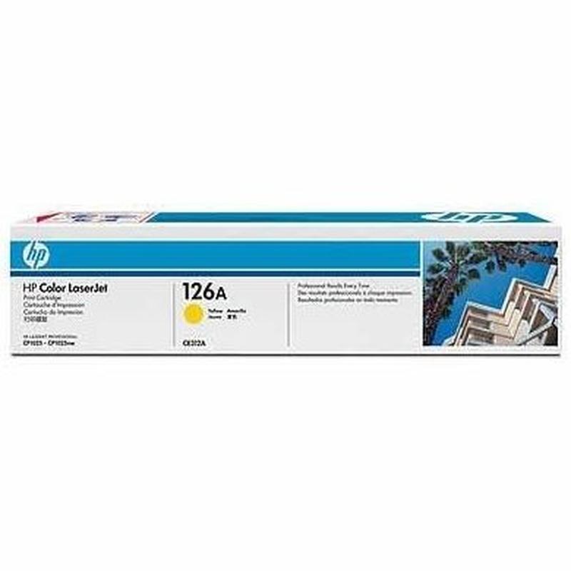 HP Tóner YELLOW HP 126A: Productos y Servicios de Stylepc