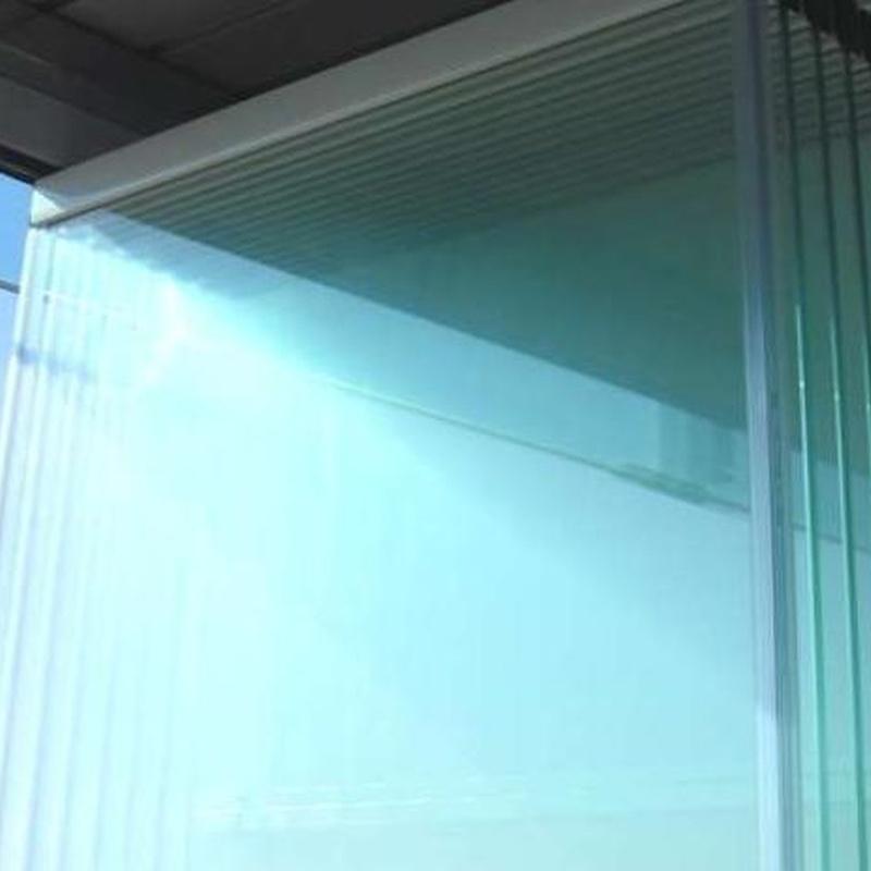 Cortina de cristal: Productos y servicios de Aluminios Tello