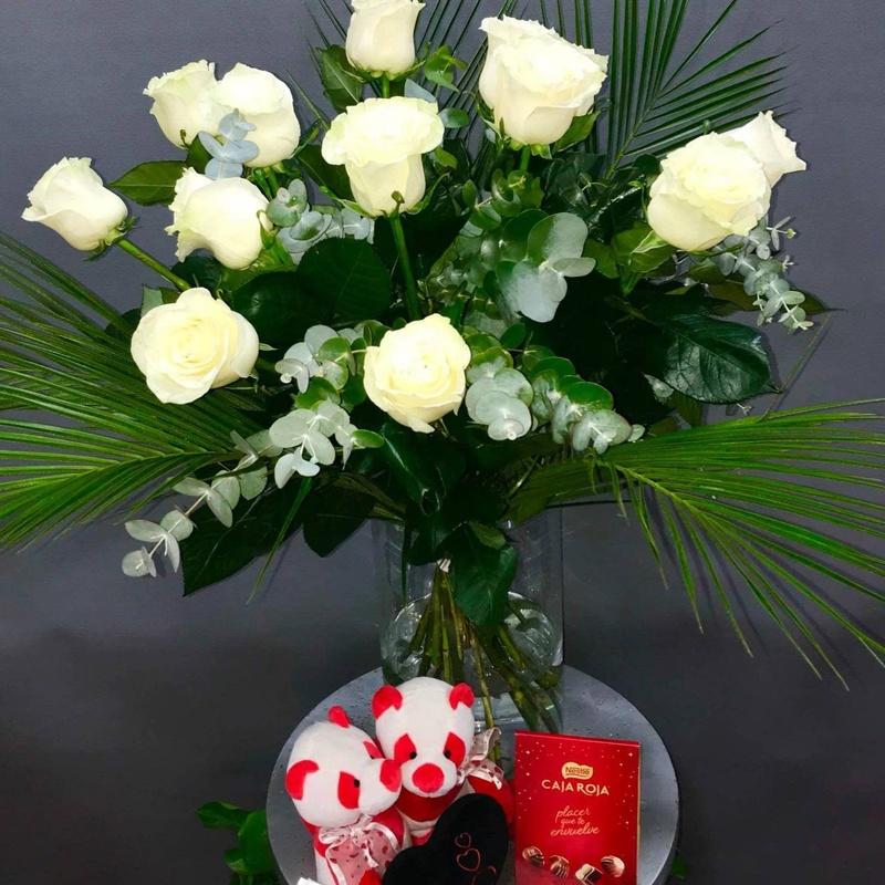 Jarrón Boí White: Productos de Flores Madrid