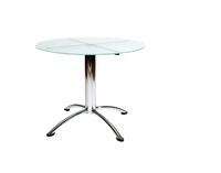 Mesa de cristal Ordesa.: Alquiler de mobiliario de Stuhl Ibérica Alquiler de Mobiliario