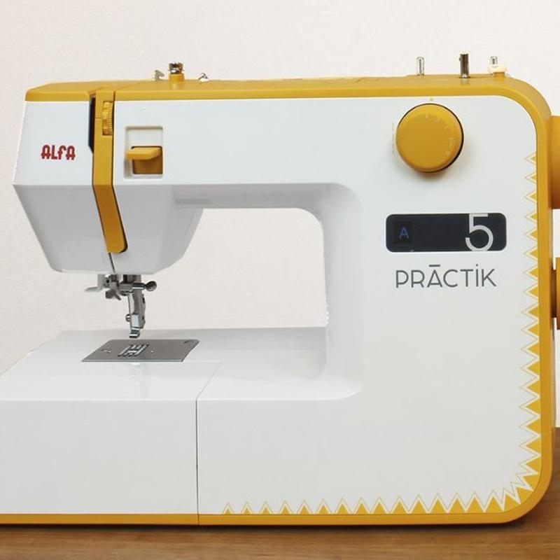 Alfa Practik 5: Productos de Maquinas de Coser - Servicio técnico y repuestos