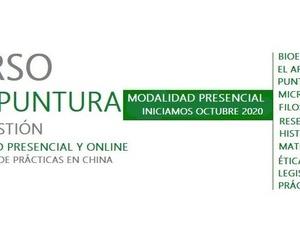 Curso Acupuntura & Moxibustión Presencial y Online  octubre 2020