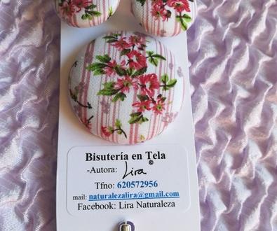 Catálogo de PRIMAVERA de Bisutería en Tela de Lira.