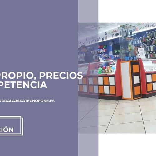 Arreglar teléfono móvil en Guadalajara - Tecnofone