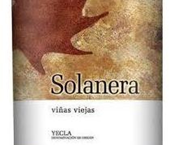 Solanera viñas viejas 2013: Catálogo de López Pascual