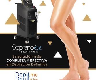 Depilación Soprano Ice Platinum: Servicios de Depil. me Depilación Láser Médico