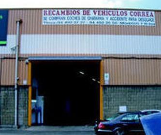 Venta de recambios y accesorios: Catálogo de Desguaces Correa