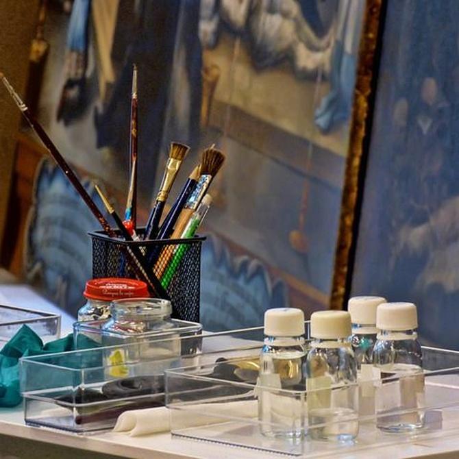 Famosas obras de arte restauradas