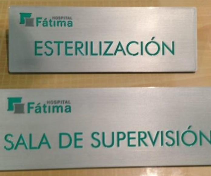 Señalización para centros Sevilla