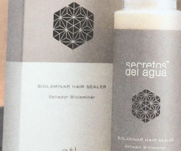 Sellador biolaminar: Productos y servicios de Celeste Peluquería