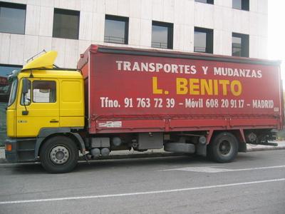 Todos los productos y servicios de Mudanzas y guardamuebles: Transportes Y  Mudanzas Javier Benito