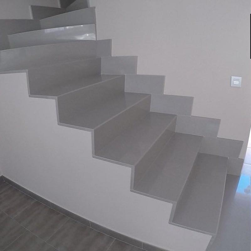 Escaleras de mármol: Servicios de Mármoles Isidoro Ruiz