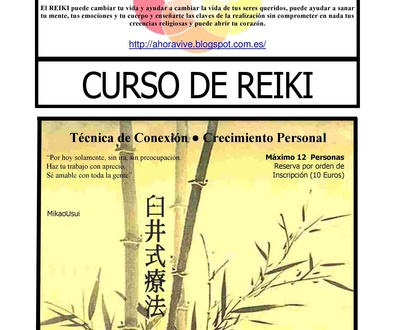 Cursos de Reiki