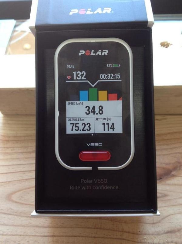 Pulsometro Polar V650: Productos y Servicios of Bike Sports