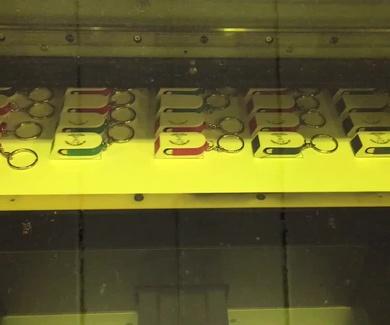 Nueva máquina de impresión uvi