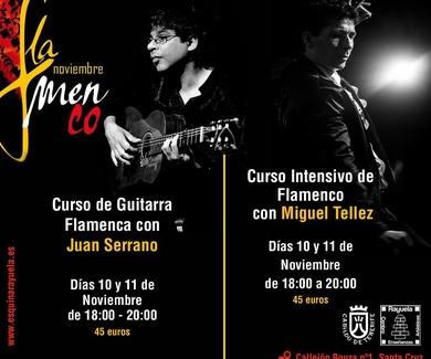 Noviembre Flamenco con Juan Serrano y Miguel Tellez