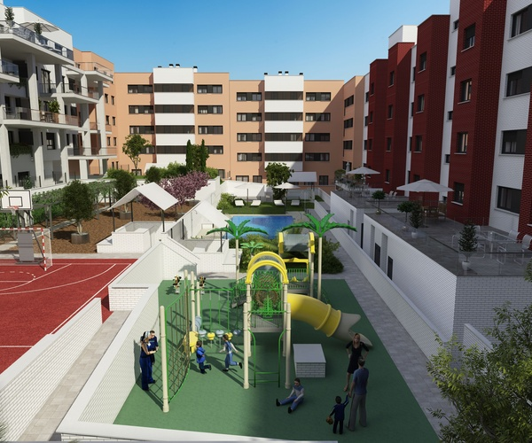Proyecto viviendas Getafe, Madrid
