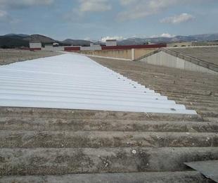 Suministro de materiales para reparación de cubiertas