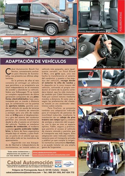 Adaptación de vehículos Asturias