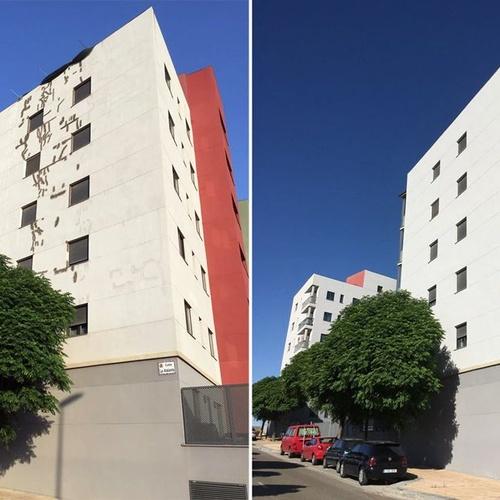 Pintura y reparación de fachadas en Zaragoza