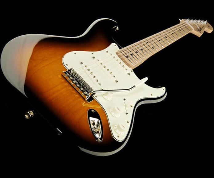 Fender Stratocaster México mástil de arce sunburst
