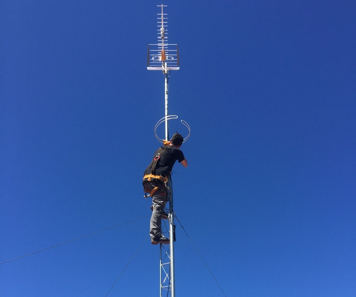 Montando la antena 3