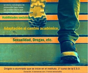Entrenamiento grupal en Inteligencia Emocional y Habilidades Sociales: ¿QUÉ SERVICIOS OFRECEMOS? de APSI-Centro de Aplicaciones Psicológicas