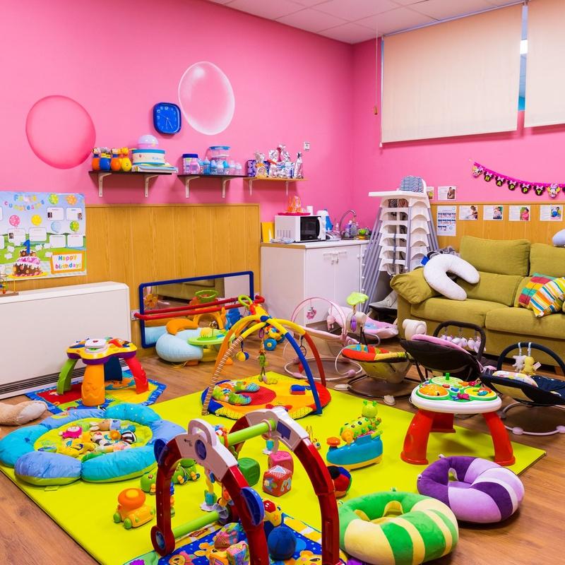 Aula Rosa (bebés): Centro Infantil Pompitas de Centro Infantil Pompitas