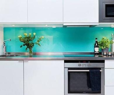 Cristal en colores para tu cocina