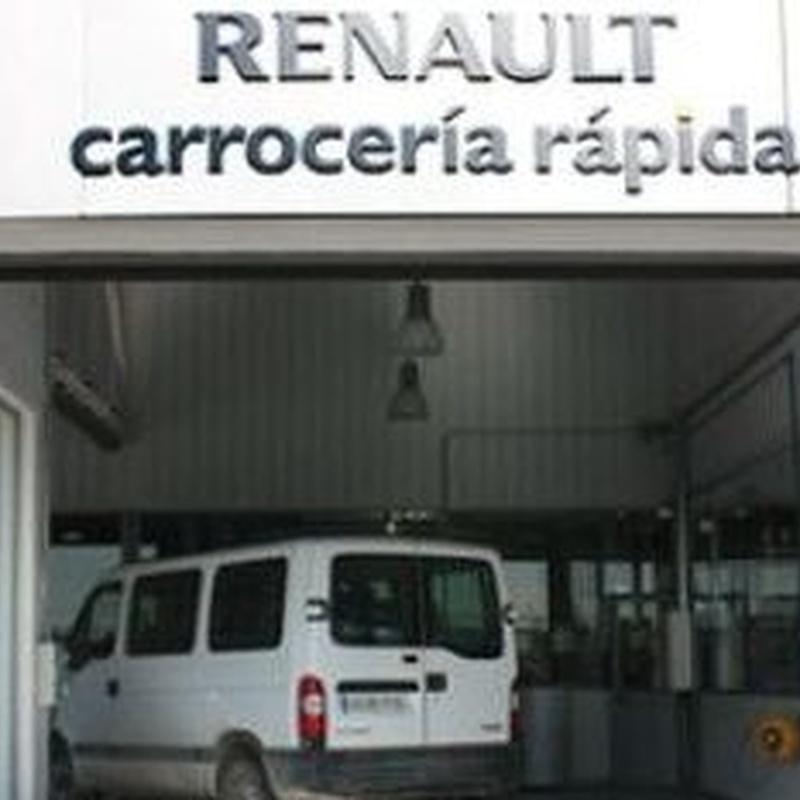 Carrocería rápida: Catálogo de Renault Grupo Aries Illescas