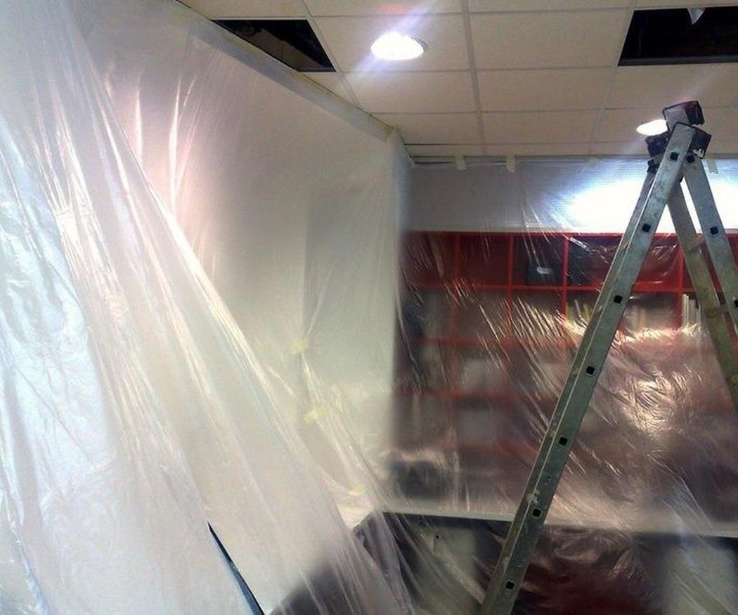 Cables, tuberías y techo: un asunto de comodidad