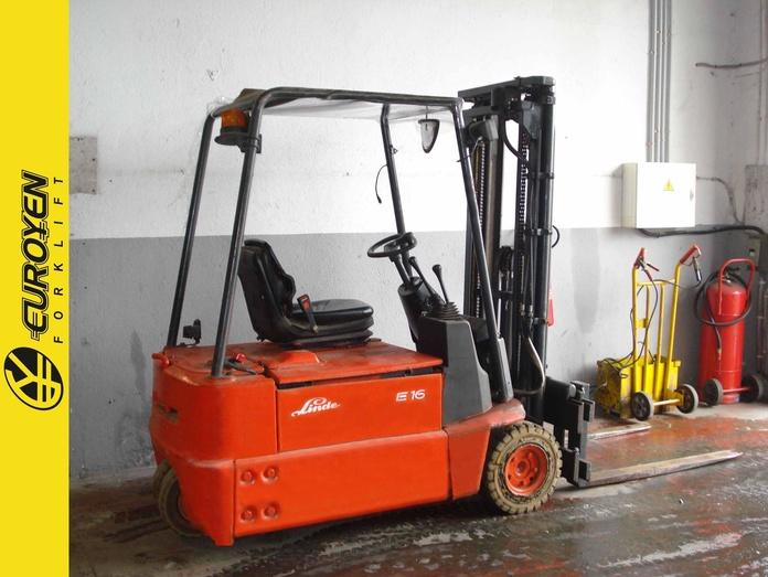 Carretilla eléctrica LINDE Nº 6088: Productos y servicios de Comercial Euroyen, S. L.