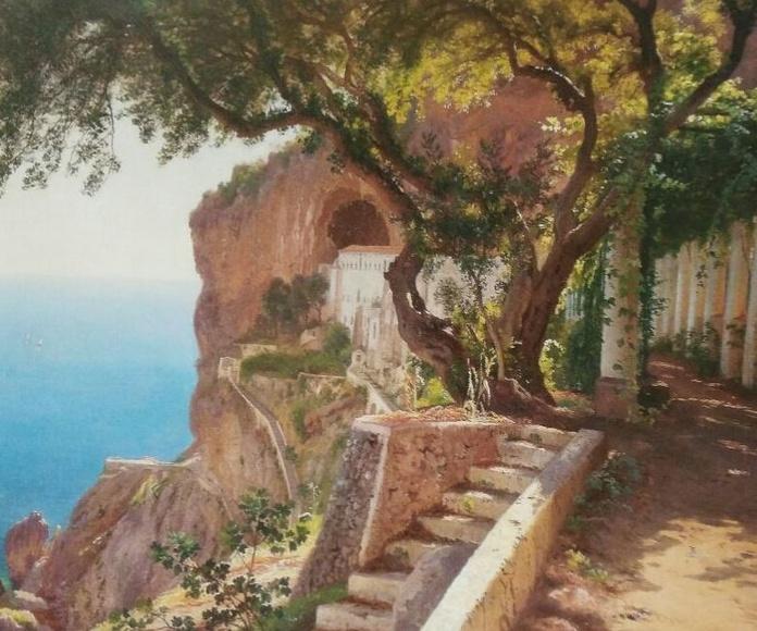 Aagaard. Pérgola en Amalfi. (HOR)t3: CATALOGO de Quadrocomio La Casa de los Cuadros desde 1968